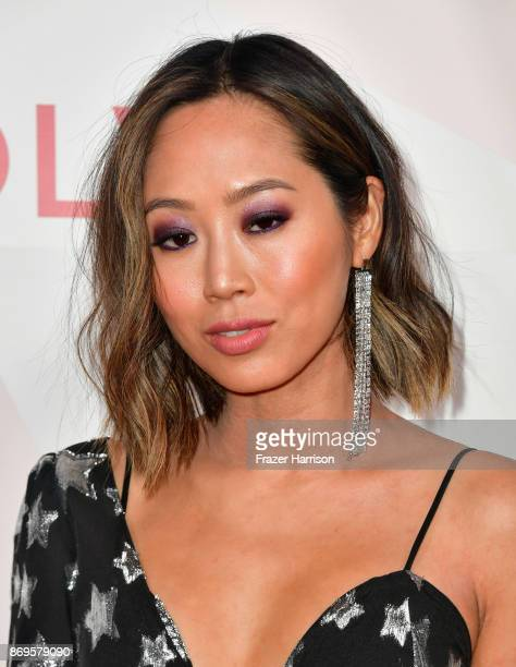 Aimee Song attends the #REVOLVEawards at DREAM Hollywood on November 2 2017 in Hollywood California