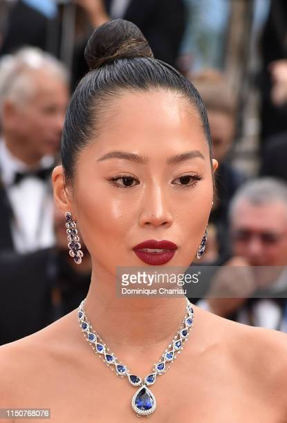Aimee Song attends the screening of Once Upon A Time In Hollywood during the 72nd annual Cannes Film Festival on May 21 2019 in Cannes France