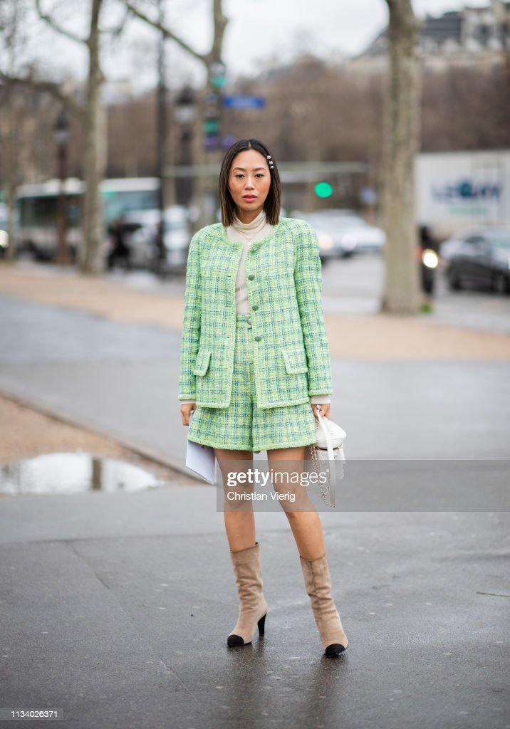 Street Style - Paris Fashion Week Womenswear Fall/Winter 2019/2020 : Day Nine : Foto jornalística
