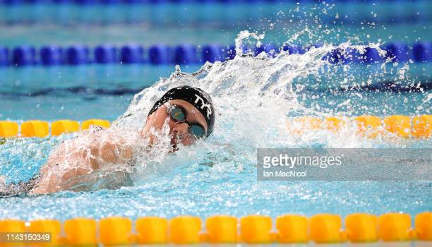Aimee Wilmott of University of Stirling competes in the final of the Women's 400M IM during the British Swimming Championships at Tollcross...