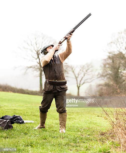 Aiming at a gamebird