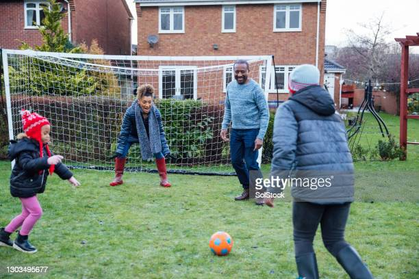 aiming for a goal - football stock pictures, royalty-free photos & images