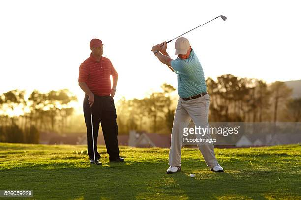 aiming for the green - teeing off stock pictures, royalty-free photos & images