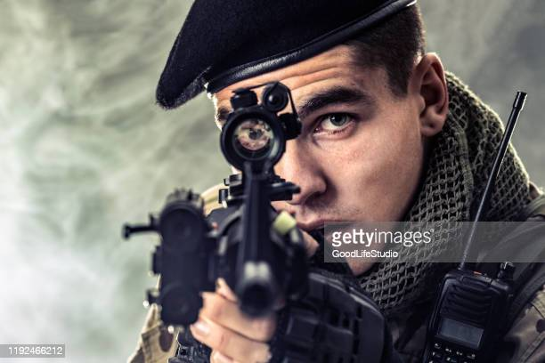 aiming - infantry stock pictures, royalty-free photos & images