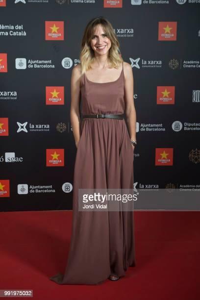 Aina Clotet attends Catalonian Cinema Party Photocall at Palauet Albeniz on July 4 2018 in Barcelona Spain