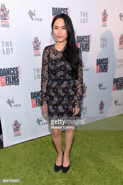 Aina Dumlao attends the opening night of the 21st Annual Dances With Films Film Festival at TCL Chinese 6 Theatres on June 7 2018 in Hollywood...