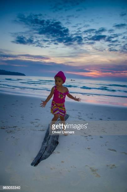Aina love the beach