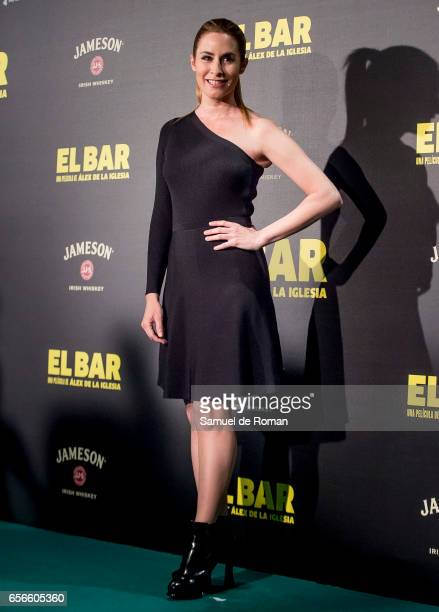 Ainhoa Arbizu attends 'El Bar' premiere at Callao cinema on March 22 2017 in Madrid Spain