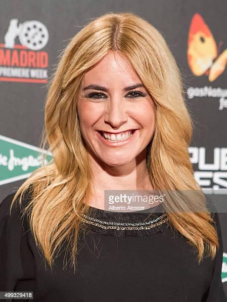 Ainhoa Arbizu attends 'El Puente De los Espias' Madrid Premiere attends 'El Puente De los Espias' Madrid Premiere on November 30 2015 in Madrid Spain