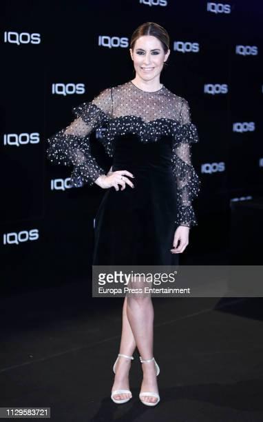 Ainhoa Arbizu attends IQOS Presentation With Jamiroquai on February 13 2019 in Madrid Spain