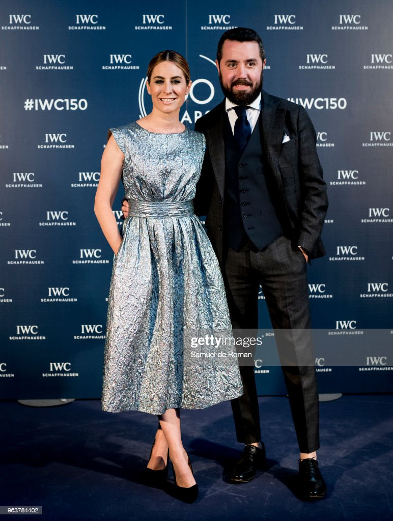 Ainhoa Arbizu attends 'IWC - Fuera de Serie' 150 Anniversary Party on May 30, 2018 in Madrid, Spain.