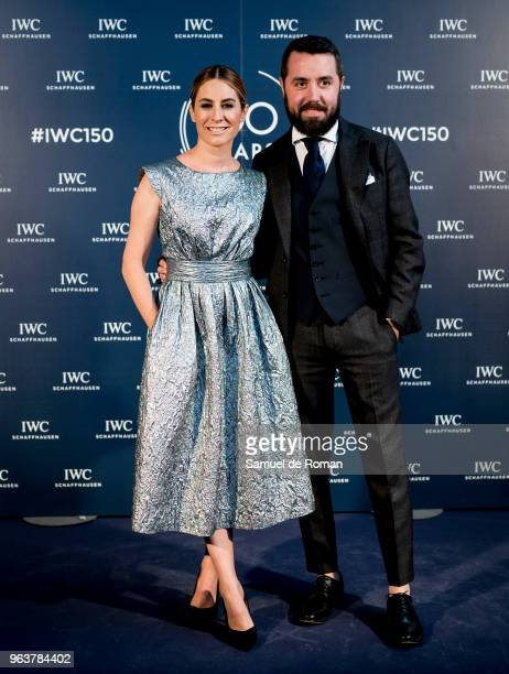 Ainhoa Arbizu attends 'IWC Fuera de Serie' 150 Anniversary Party on May 30 2018 in Madrid Spain