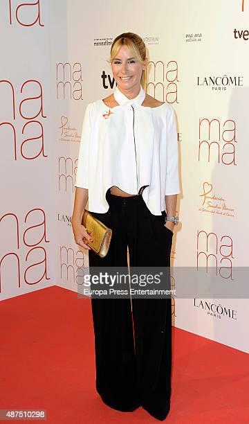 Ainhoa Arbizu attends 'Ma ma' charity premiere on September 9 2015 in Madrid Spain