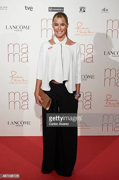 Ainhoa Arbizu attends Ma Ma premiere at the Capitol cinema on September 9 2015 in Madrid Spain