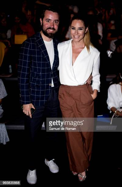 Ainhoa Arbizu attends Miguel Marinero show at Mercedes Benz Fashion Week Madrid Spring/ Summer 2019 on July 8 2018 in Madrid Spain on July 8 2018 in...