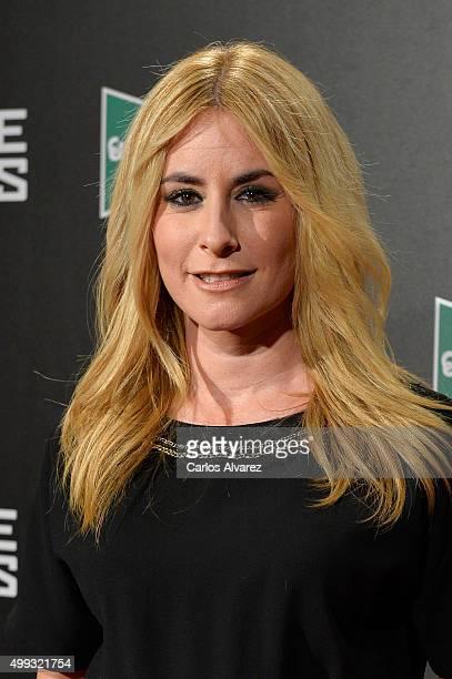 Ainhoa Arbizu attends the Bridge of Spies premiere at the Callao cinema on November 30 2015 in Madrid Spain