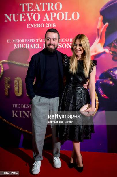 Ainhoa Arbizu attends the Forever Jackson Madrid Premiere on January 18 2018 in Madrid Spain