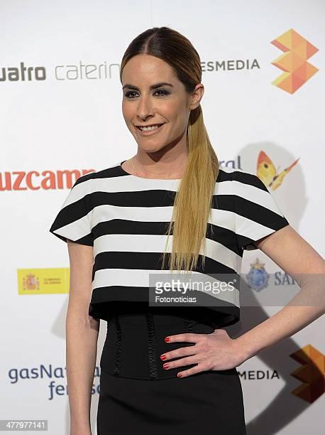 Ainhoa Arbizu attends the Malaga Film Festival cocktail presentation at TClub on March 11 2014 in Madrid Spain