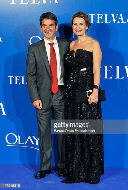 Ainhoa Arteta and Jesus Garmendia attend 'Telva' Awards 2011 on September 28 2011 in Valencia Spain
