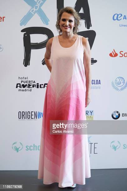 Ainhoa Arteta attends 'Concierto Por La Paz' by Starlite Foundation photocall at Wanda Metropolitano on June 30 2019 in Madrid Spain