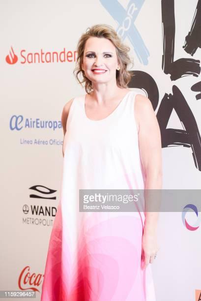 Ainhoa Arteta attends 'Concierto Por La Paz' by Starlite Foundation at Wanda Metropolitano on June 30 2019 in Madrid Spain