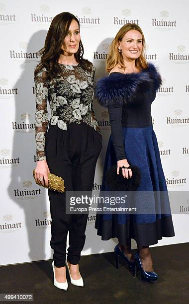 Ainhoa Arteta attends 'Dom Ruinart Rose 2002' party photocall on November 30 2015 in Madrid Spain