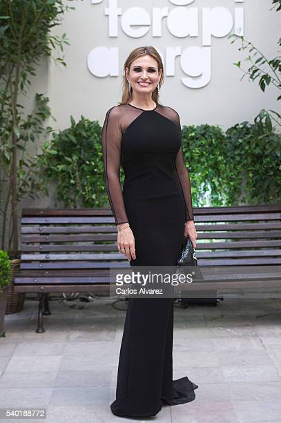 Ainhoa Arteta attends Juegaterapia party at the Santo Mauro Hotel on June 14 2016 in Madrid Spain