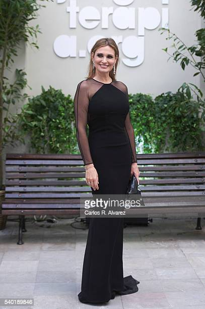 Ainhoa Arteta attends 'Juegaterapia' party at the Santo Mauro Hotel on June 14 2016 in Madrid Spain
