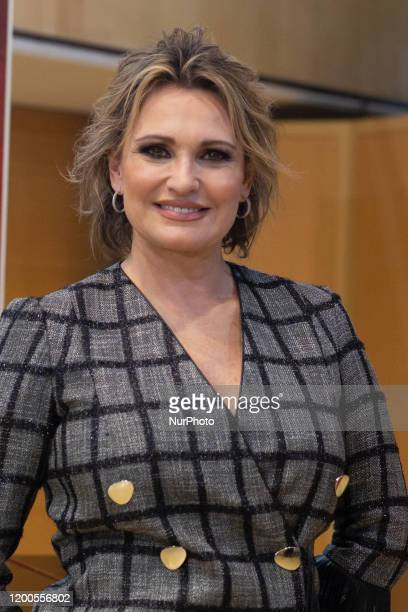 Ainhoa Arteta attends photocall for TV show presentation Prodigios in Madrid on 13 February 2020Spain