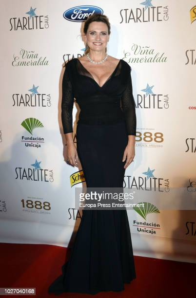 Ainhoa Arteta attends the Starlite Gala on August 11 2018 in Marbella Spain