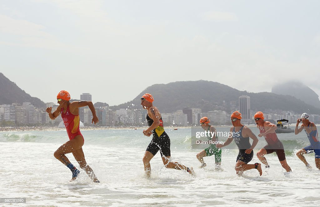 Triathlon - Olympics: Day 15