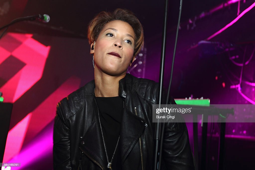 Aino Jawo of Icona Pop performs on stage on March 20, 2013 in London, England.