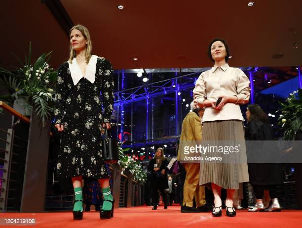 Aino Laberenz attends the award ceremony of 70th Berlinale International Film Festival in Berlin Germany on February 29 2020