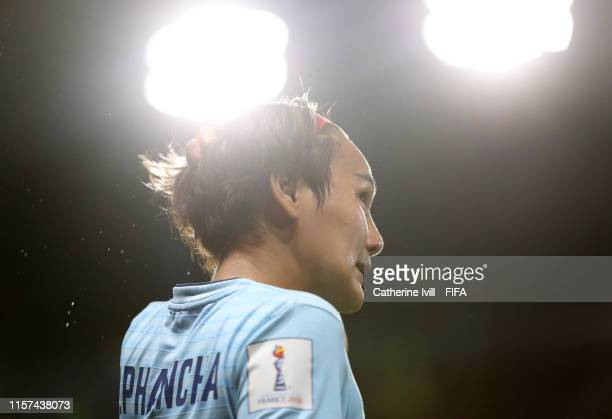 Ainon Phancha of Thailand during the 2019 FIFA Women's World Cup France group F match between Thailand and Chile at Roazhon Park on June 20 2019 in...