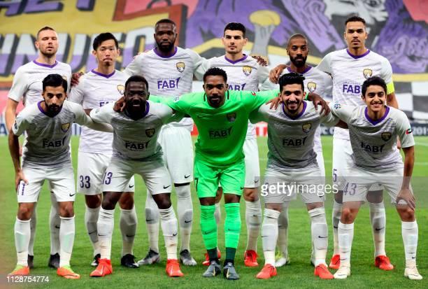 Ain's forward Marcus Berg defender Tsukasa Shiotani midfielder Tongo Doumbia defender Mohanad Salem defender Mohammed Fayez defender Ismail Ahmed...