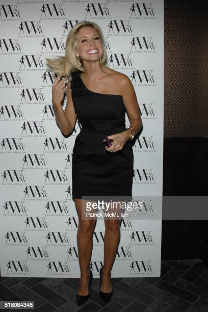 Ainsley Earhardt attends QUEST MAGAZINE What2WearWherecom hosts a soft launch of LAVO at 38 E 58th St on September 9 2010 in New York City