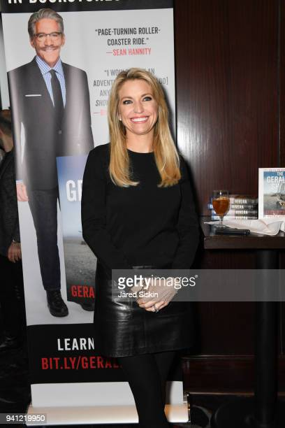 Ainsley Earhardt attends Sean Hannity Friends celebrate the publication of 'The Geraldo Show A Memoir' by Geraldo Rivera at Del Frisco's on April 2...