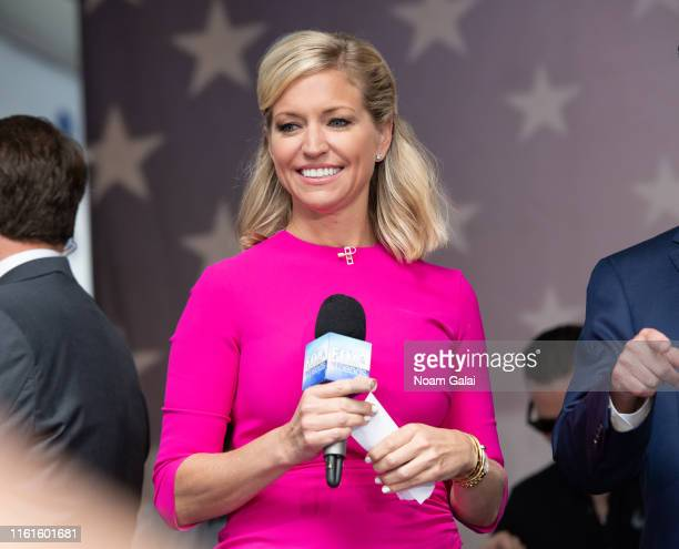 Ainsley Earhardt attends the FOX Friends AllAmerican Summer Concert Series July 12 2019 in New York City