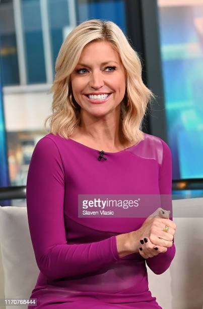 Ainsley Earhardt hosts FOX Friends at Fox News Channel Studios on September 24 2019 in New York City