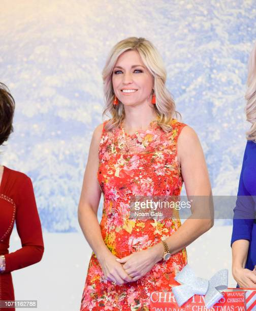 Ainsley Earhardt is seen on the set of FOX Friends at FOX Studios on December 10 2018 in New York City