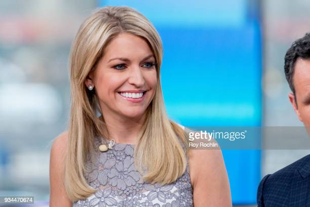 Ainsley Earhardt of Fox Friends to discuss Maroln Bundo's a day in the life of The Vice President with Charlotte and Karen Pence at Fox News Studios...