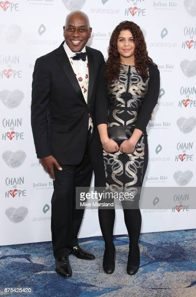 Ainsley Harriot attends the Chain Of Hope Gala Ball held at Grosvenor House on November 17 2017 in London England