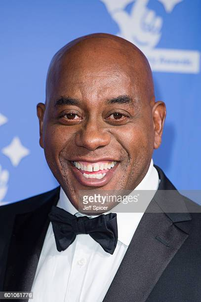 Ainsley Harriott arrives for the National Lottery Awards 2016 at The London Studios on September 9 2016 in London England