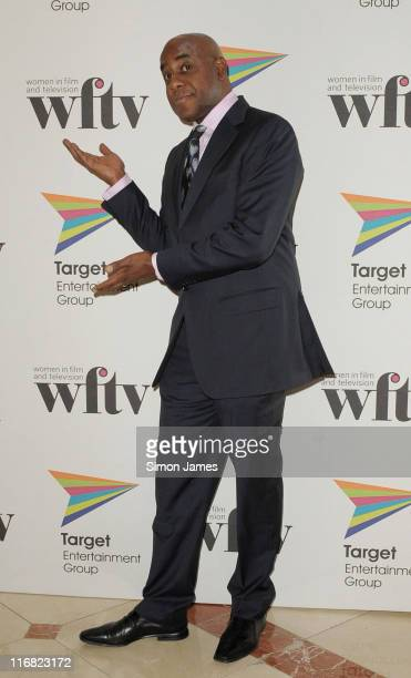 Ainsley Harriott attends Target Women in Film and TV Awards at London Hilton on December 5 2008 in London England