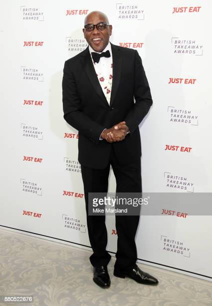 Ainsley Harriott attends The British Takeaway Awards at The Savoy Hotel on November 27 2017 in London England