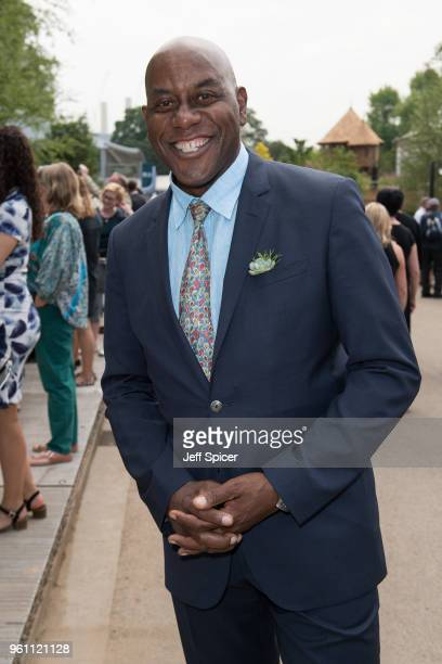 Ainsley Harriott attends the Chelsea Flower Show 2018 on May 21 2018 in London England