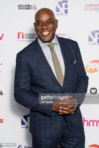 Ainsley Harriott attends the Legends of Football fundraiser at The Grosvenor House Hotel on October 2 2017 in London England The annual...