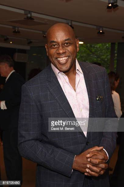 Ainsley Harriott attends the press night performance of 'Tanguera' at Sadler's Wells Theatre on July 20 2017 in London England