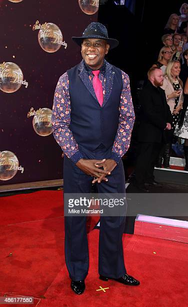 Ainsley Harriott attends the red carpet launch of ' Strictly Come Dancing 2015' at Elstree Studios on September 1 2015 in Borehamwood England