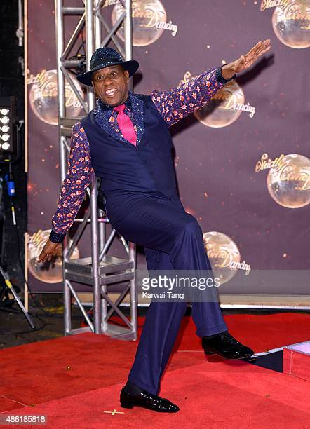 Ainsley Harriott attends the red carpet launch of 'Strictly Come Dancing 2015' at Elstree Studios on September 1 2015 in Borehamwood England